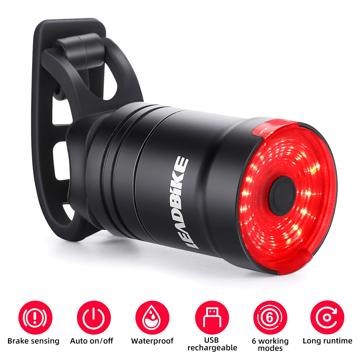 leadbike sensor rear light